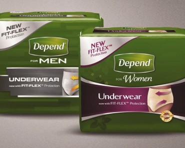 Free Unisex Depend Sample Kit