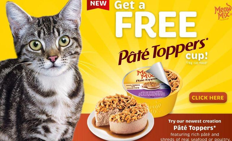 Meow Mix Irresistible Cat Treats Free Sample