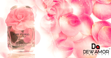 Free Dewamor Pink Floral Perfume Sample By Mail