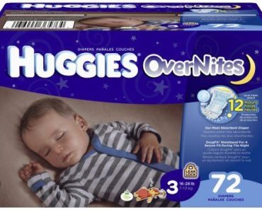 Free Huggies Overnights Sample By Mail