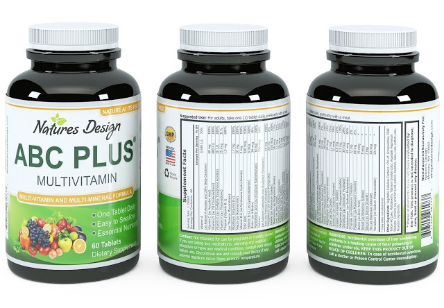 Free Natures Design Health Supplement Sample