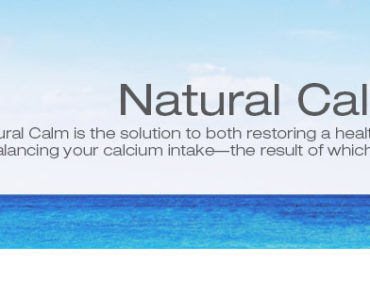 Free Sample Natural Calm By Natural Vitality