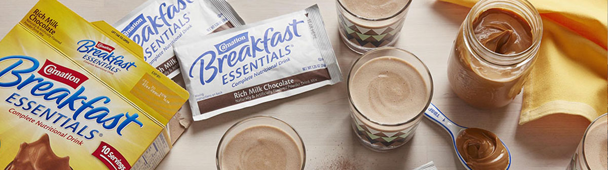 Free Sample Of Carnation Breakfast Essentials Rich Milk Chocolate Powder Drink Mix