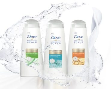 Free Sample Of Dove Pure Daily Care Anti Dandruff 2 in 1 Shampoo And Conditioner