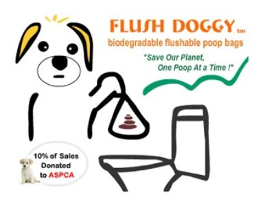 Free Sample Of Flush Doggy Flushable Dog Waste Bags