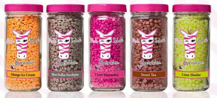 Free Sample Of Pink Zebra Candle Sprinkles By Mail