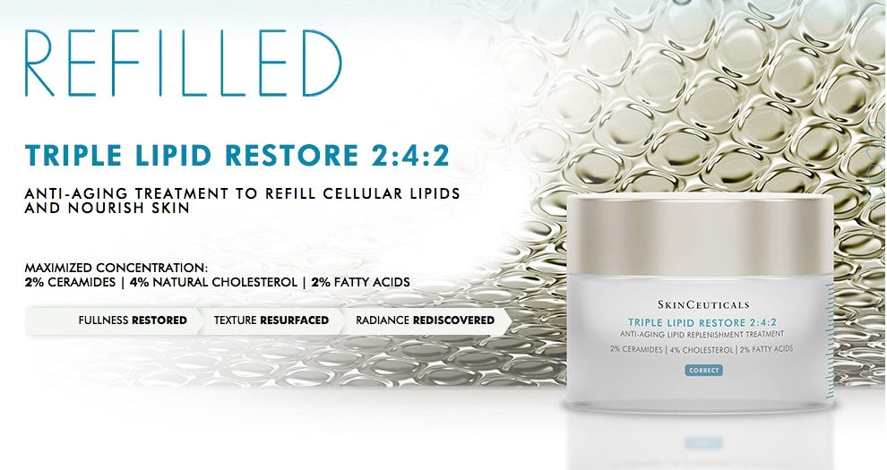 Free Sample Of SkinCeuticals Triple Lipid Restore By Mail