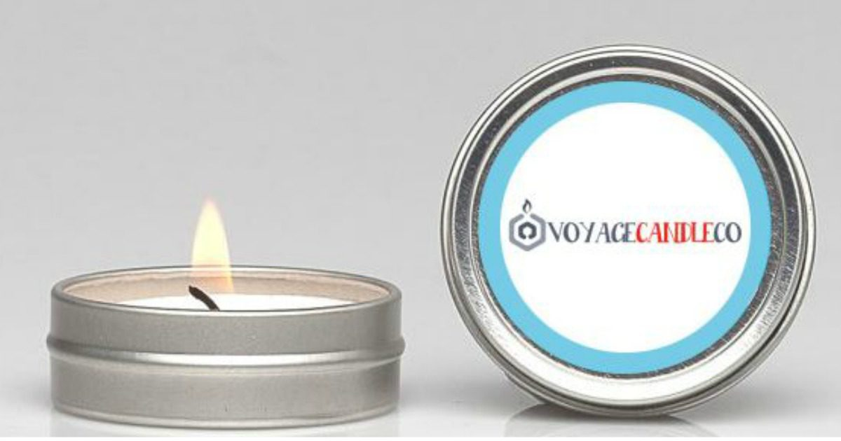 Free Scented Tealight Candle From Voyage Candle Company