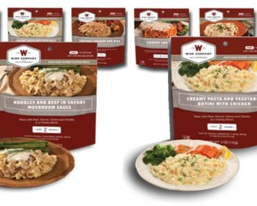 Free Survival Food Sample From Wise Company