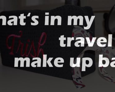 Free Travel Cosmetic Bag From InTUR Travel