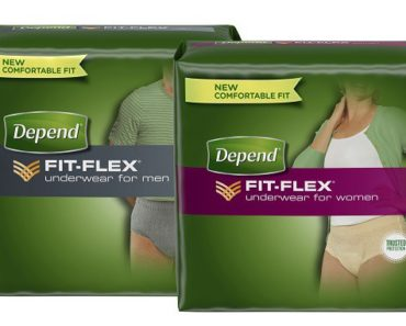 Free Women's Or Men's Depends Sample