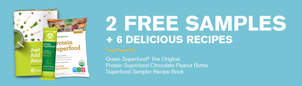 2 Free Superfood Samples From Amazing Grass By Mail
