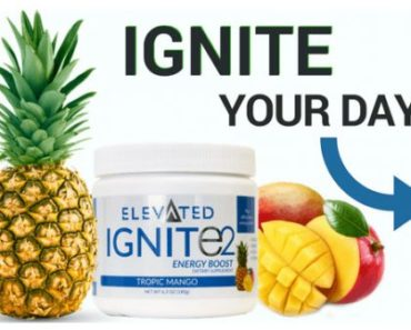 Free Sample Of Ignite 2 Energy Boost From Elevated Fitness And Nutrition