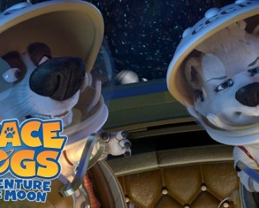 Free Space Dogs Adventure To The Moon Movie Rental From VUDU